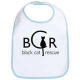Black Cat Rescue Bib