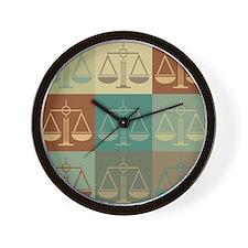 Law Pop Art Wall Clock