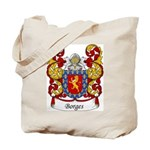 Borges Family Crest Tote Bag