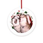 Keeva & Koyo Ornament (Round)
