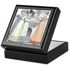 Pride & Prejudice Ch 16 Keepsake Box