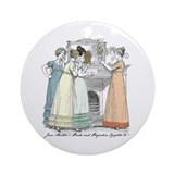 Pride &amp;amp; Prejudice Ch 16 Ornament (Round)
