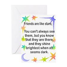 Funny B4sma Greeting Card
