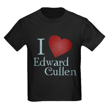 I Love Edward Cullen Kids T-Shirt
