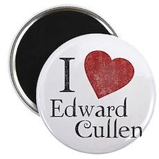 I Love Edward Cullen Magnet