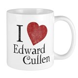 I Love Edward Cullen Coffee Mug