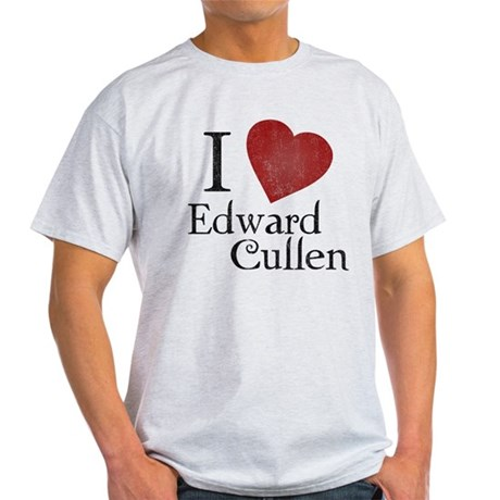 I Love Edward Cullen Light T-Shirt