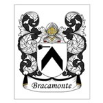 Bracamonte Family Crest Small Poster