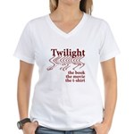 Twilight Movie Women's V-Neck T-Shirt