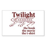 Twilight Movie Rectangle Sticker 50 pk)