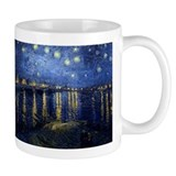 Starry Night Over the Rhone Coffee Mug