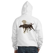 Weimaraner the gray ghost Hoodie