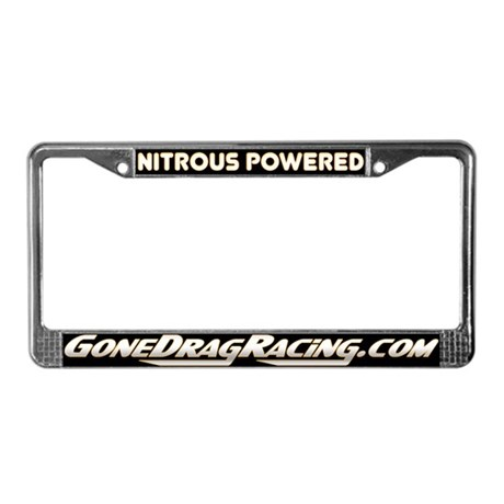 Nitrous Powered License Plate Frame