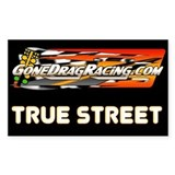 "True Street 3""x5"" Decal"