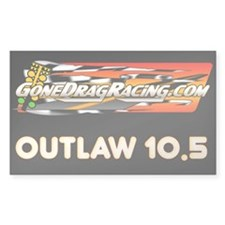 "Outlaw 10.5 3""x5"" Decal"