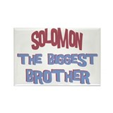 Solomon - The Biggest Brother Rectangle Magnet