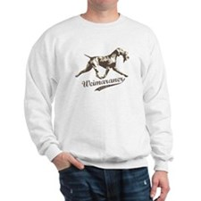 Weimaraner the Gray Ghost Sweatshirt