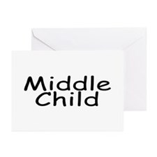 Middle Child Greeting Cards (Pk of 10)
