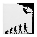 Rock Climber Tile Coaster