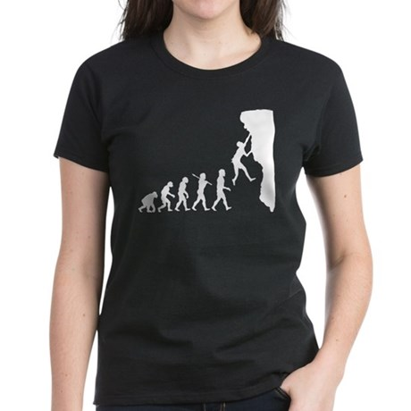 Rock Climber Women's Dark T-Shirt