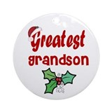 Greatest Grand Son Ornament (Round)