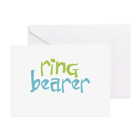 Ring Bearer Greeting Cards (Pk of 10)
