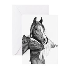 Gypsy Vanner Horse Greeting Cards (Pk of 20)