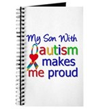 Autism Proud Ribbon Journal