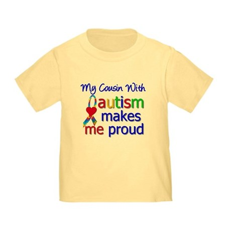 Autism Proud Ribbon Toddler T-Shirt