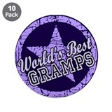 "Worlds Best Gramps 3.5"" Button (10 pack)"
