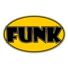 Oval Funk Decal