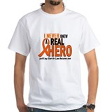 Never Knew A Hero 2 ORANGE (Son-In-Law) Shirt