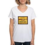 Moreno Valley Beer Women's V-Neck T-Shirt