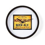 Moreno Valley Beer Wall Clock