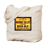 Moreno Valley Beer Tote Bag