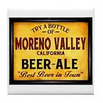 Moreno Valley Beer Tile Coaster
