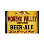 Moreno Valley Beer Rectangle Magnet (10 pack)