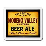 Moreno Valley Beer Mousepad