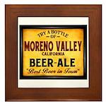 Moreno Valley Beer Framed Tile