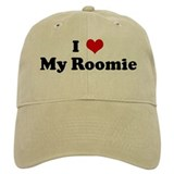 I Love My Roomie Hat