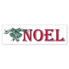 Noel Bumper Bumper Sticker