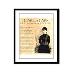 Pearl Starr Framed Panel Print