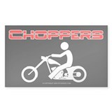 """Choppers"" - Rectangle Decal"