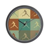 Javelin Pop Art Wall Clock