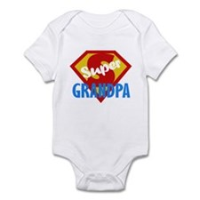 Super Grandpa Infant Bodysuit