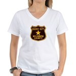 McLennan County Sheriff Women's V-Neck T-Shirt