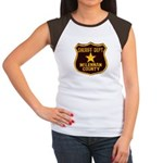 McLennan County Sheriff Women's Cap Sleeve T-Shirt