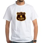 McLennan County Sheriff White T-Shirt