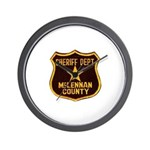 McLennan County Sheriff Wall Clock
