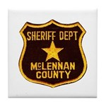 McLennan County Sheriff Tile Coaster